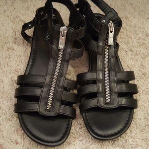 Black Merona sandals